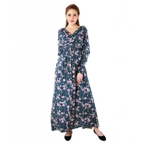 69c5c6acfc7 Buy Momzjoy Floral Rich Print Front Wrap Maternity Dress online ...