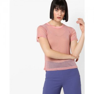 18cee08a5f Buy latest Women s Tops Below ₹500 On Ajio online in India - Top ...