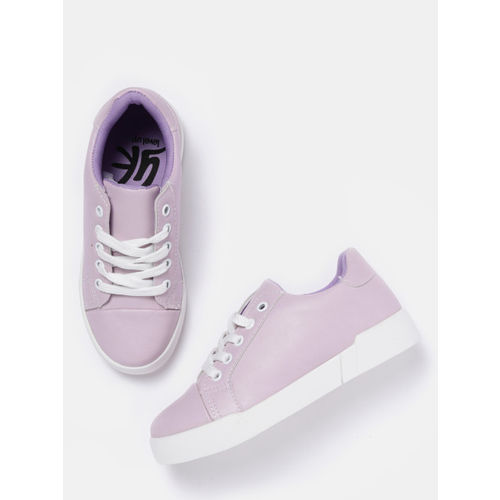 YK Girls Lavender Sneakers