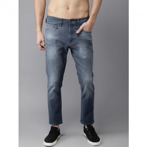 Moda Rapido Men Blue Slim Fit Mid-Rise Jeans