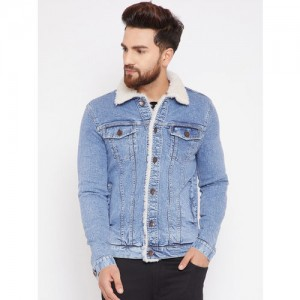 Fugazee Full Sleeve Solid Men Jacket