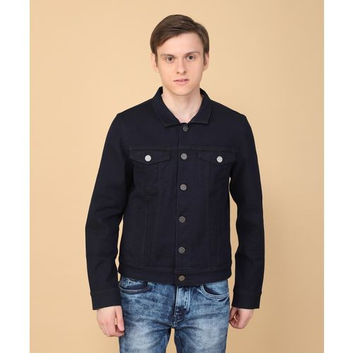 48723c2f5b0 Buy LP Jeans by Louis Philippe Full Sleeve Solid Men s Jacket online ...