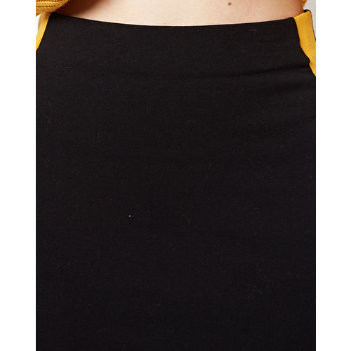 TALLY WEiJL Mid-Rise Pencil Skirt with Contrast Side Taping