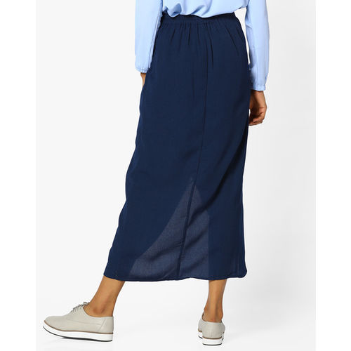 Project Eve WW Work A-line Skirt with Tulip Hem