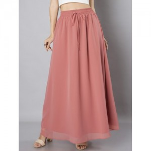 FabAlley Pink Maxi Skirt