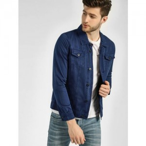94e9d134382 Blue Saint Over Dyed Denim Jacket. ₹1699 Koovs