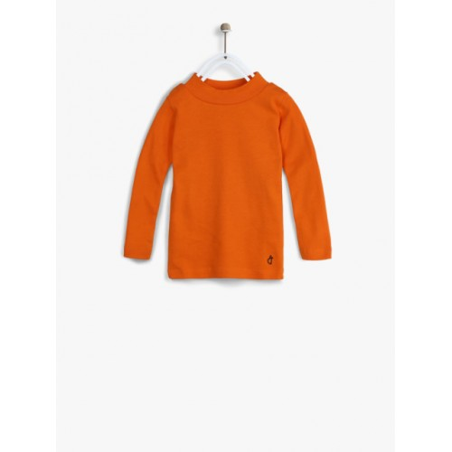 Gini and Jony Orange Casual Top