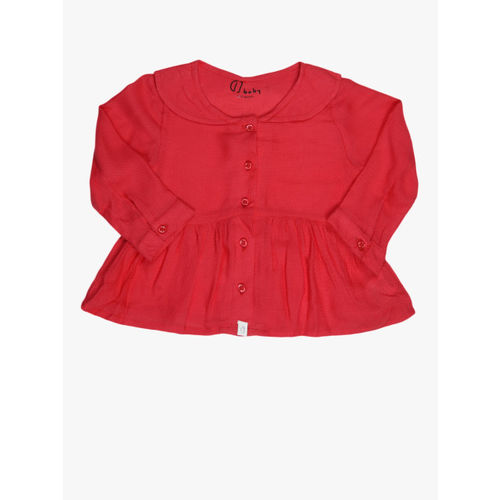 Gini and Jony Red Casual Top
