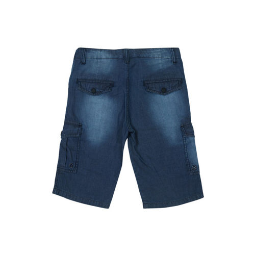 Gini and Jony Boys Blue Washed Denim Shorts