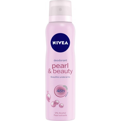 Nivea Pearl & Beauty Deodorant Spray - For Women(150 ml)