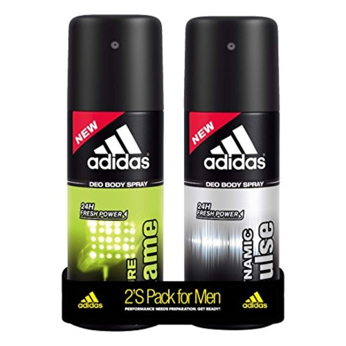 Adidas Deodorant Body Spray Combo (Pack of 2) 150ml