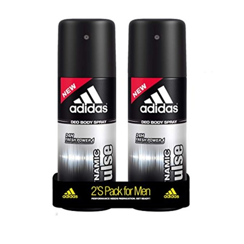 Adidas Deodorant Body Spray for Men (Pack of 2)150ml