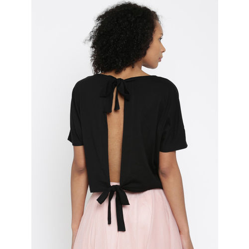 ONLY Women Black Printed Top