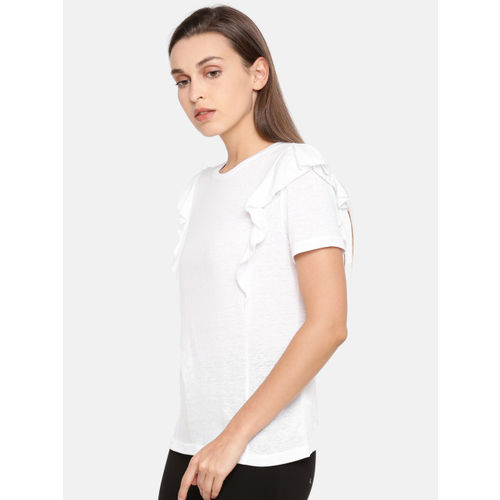 ONLY Women White Solid Top