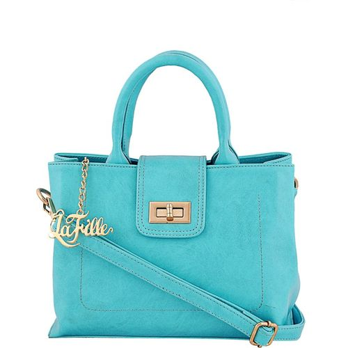 LaFille Hand-held Bag(Blue)