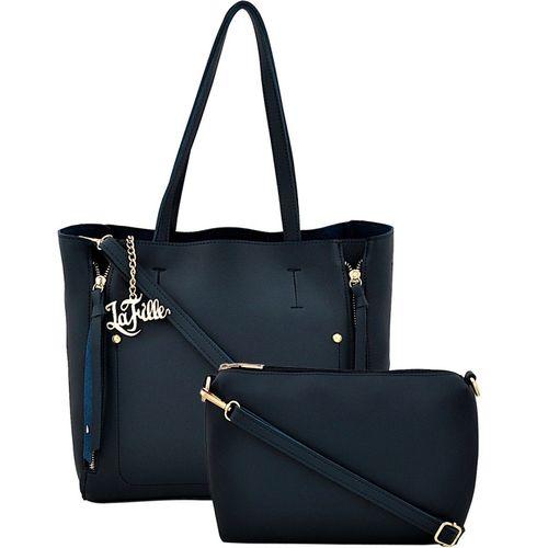 LaFille Hand-held Bag(Blue)