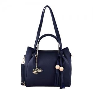 LaFille Blue Women Handbag