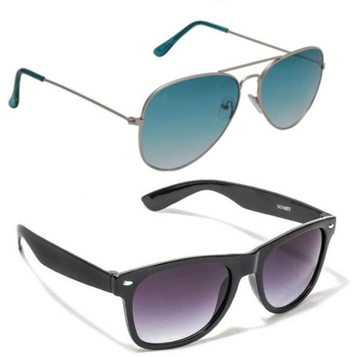 Magjons Aviator Sunglasses(Blue)