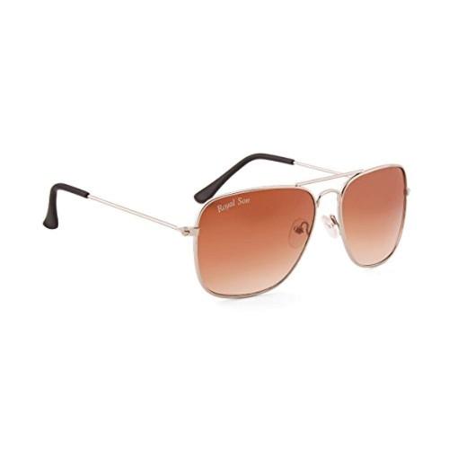98c15439ac7 ... ROYAL SON Brown Gradient Lens Royal Son UV Protected Caravan Square  Sunglasses For Men and Women ...