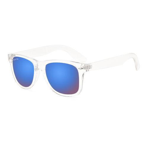 Royal Son UV Protected Wayfarer Sunglasses For Men And Women (RS008WF53Blue Mirrored Lens)