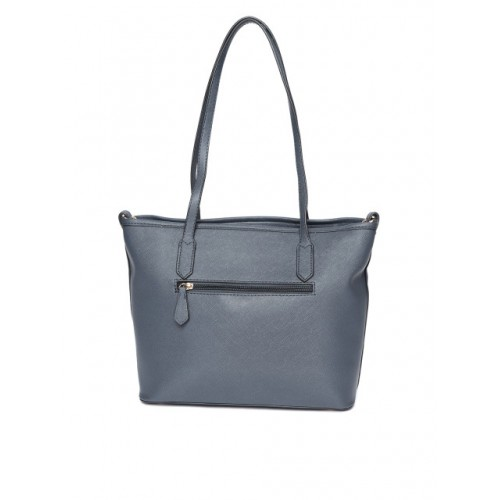 Mast & Harbour Navy Blue Striped Shoulder Bag