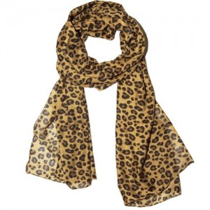 Weavers Villa Animal Print Trendy Scarves and Stoles Light Weight Premium Poly Cotton Summer Animal Print Women's Scarf
