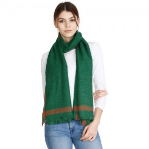 FabSeasons Solid Acrylic Wool Men & Women Scarf