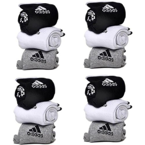 ADIDAS Men & Women Printed Ankle Length(Pack of 12)