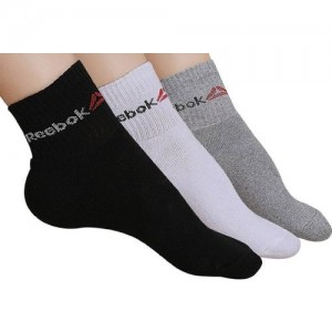 REEBOK Men's & Women's Solid Ankle Length(Pack of 3)