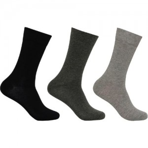 Supersox Men's Solid Mid-Calf/Crew