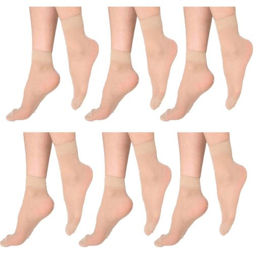 Ishaya Stores Women's Solid Ankle Length(Pack of 6)