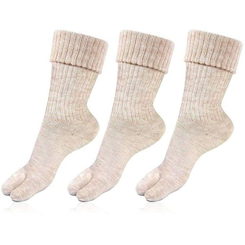 Rc. Royal Class Women's Solid Mid-Calf/Crew(Pack of 3)