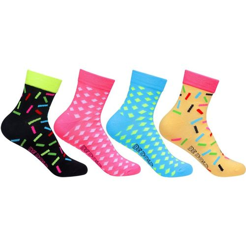 Bonjour Women's Printed Ankle Length(Pack of 4)