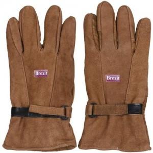 Brexit Solid Winter Men's Gloves