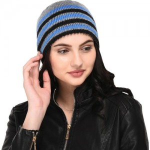 a8539883083 Buy Gajraj Exclusive Royal Blue Solid Wool Gloves online