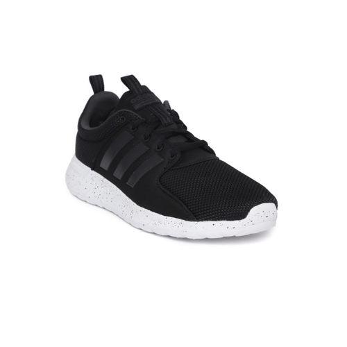 Adidas Men Black Cloudfoam Lite Racer Running Shoes