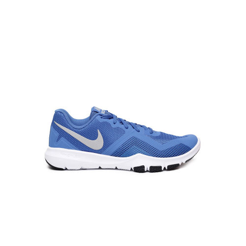 Nike Flex Control Ii Blue Training Or Gym Shoes