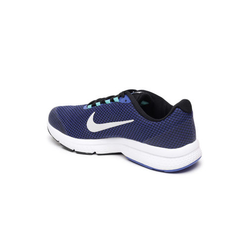 NIKE Men's Midnight Navy/Black-Vest Grey RUNALLDAY Running Shoes (898464-016)
