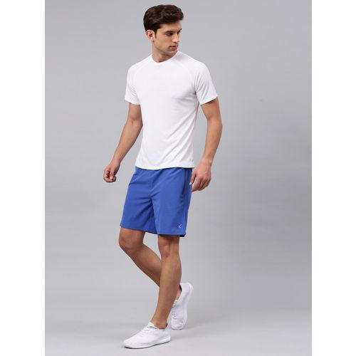 HRX by Hrithik Roshan Men White Solid Running Tshirt