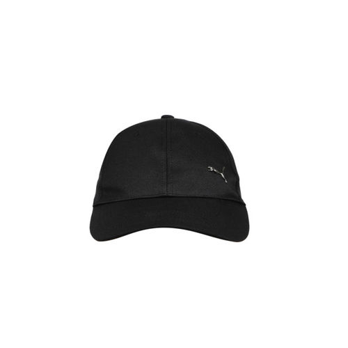 d1ab6a03bf7 Buy Puma Unisex Black Solid Metal Cat Baseball Cap online