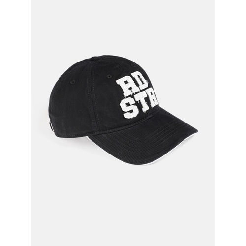 15725d91aaa8e8 Buy Roadster Unisex Black Embroidered Baseball Cap online | Looksgud.in