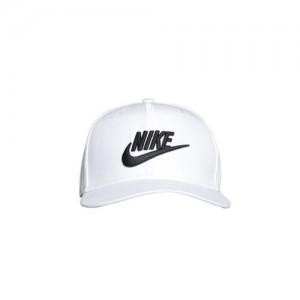 e41395fc18e Nike Unisex White U NSW Pro Futura Solid Snapback Cap