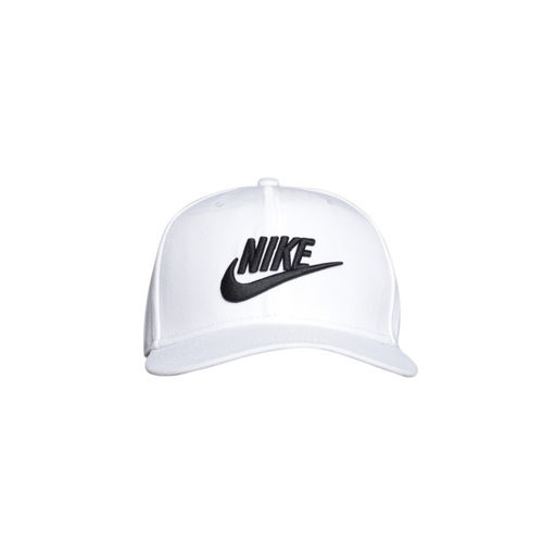 Nike Unisex White U NSW Pro Futura Solid Snapback Cap
