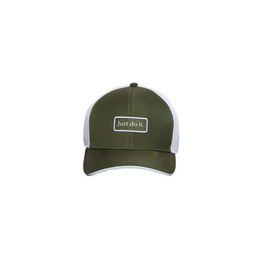 1035c08ac030a ... Baseball Cap  Nike Unisex Olive Green   White CLC99 TRUCKER  Colourblocked Baseball ...