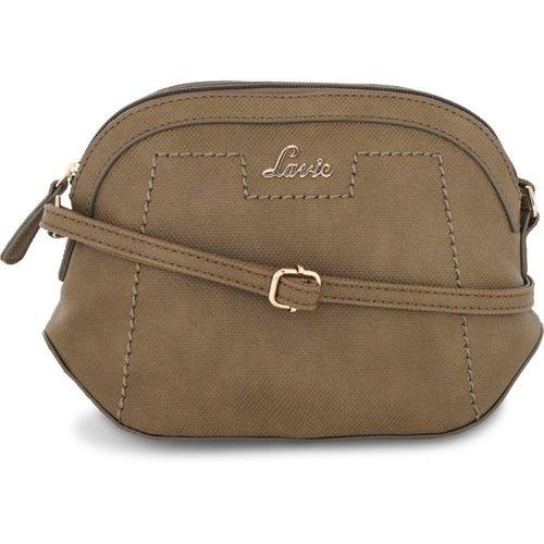 Lavie Women Casual Green Polyester Sling Bag