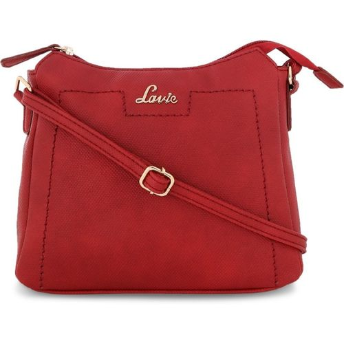 8d6131da330 Buy Lavie Women Casual Red Polyester Sling Bag online