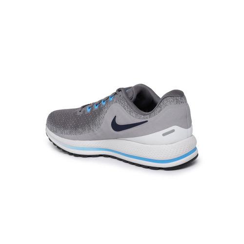 7372209e964 Buy Nike Men AIR ZOOM VOMERO 13 Grey Melange Running Shoes online ...