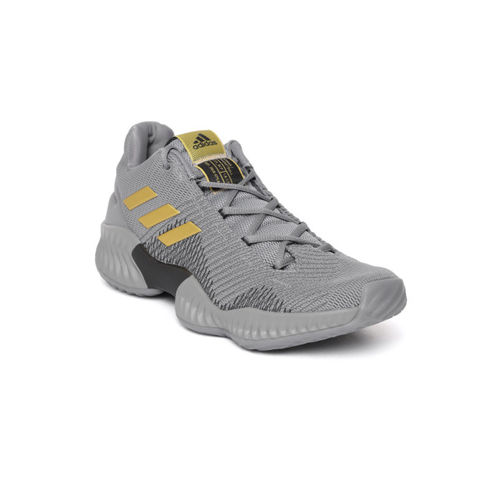 15a64fce57c Buy Adidas Pro Bounce 2018 Low Grey Basketball Shoes online ...
