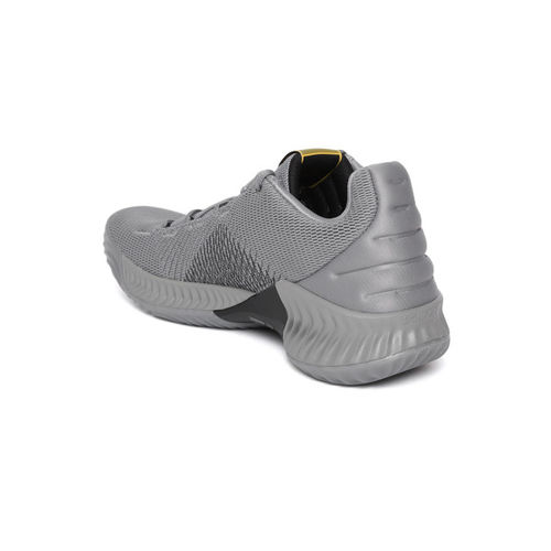 b2430736068bd Buy Adidas Pro Bounce 2018 Low Grey Basketball Shoes online ...