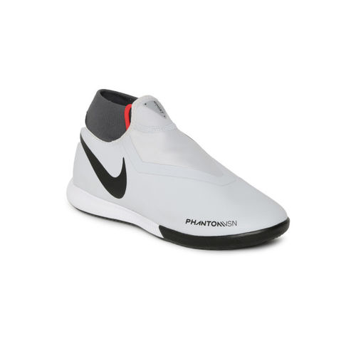 Buy Nike Unisex Grey PHANTOM VSN ACADEMY DF IC Football Shoes online ... 486b4fd80